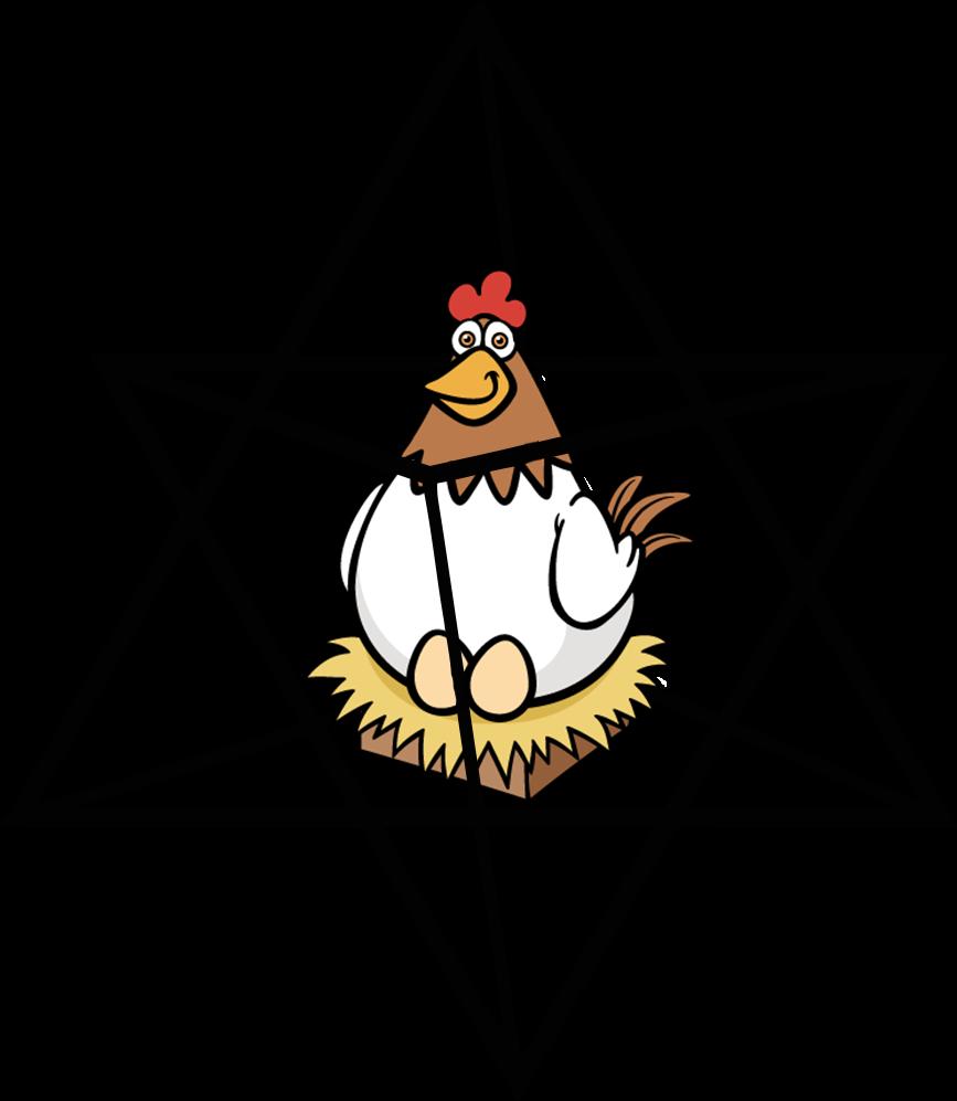 кокошката и яйцето